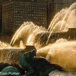 Buckingham Fountain Chicago Illinois.
