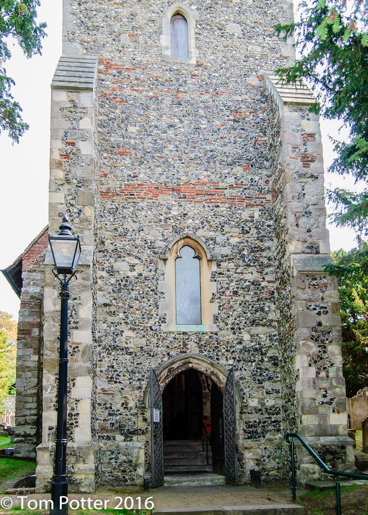 St. Martin's chapel in Canterbury
