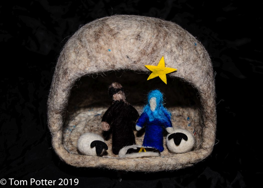 While they were in Bethlehem, the time came for Mary to have the baby, Luke 2:6